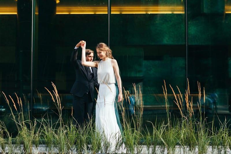 abito da sposa leggero