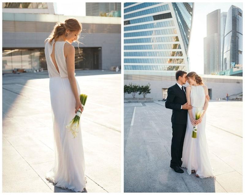 abito da sposa rito civile