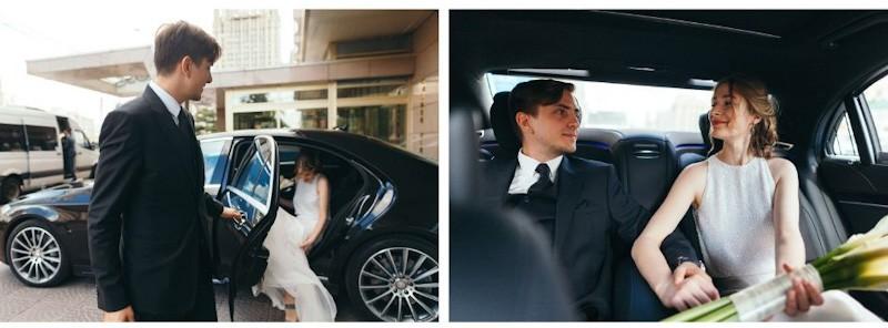 arrivo degli sposa