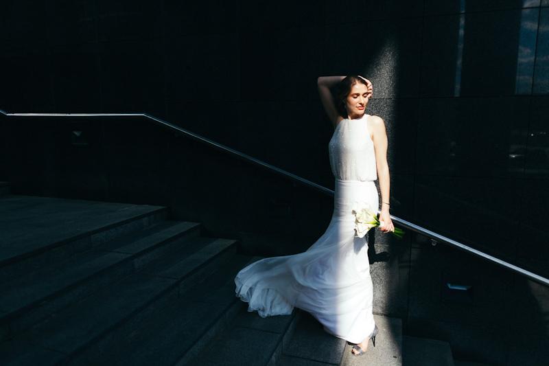 abito da sposa lucicante