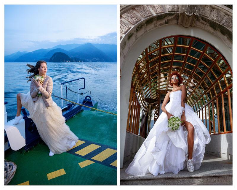 look della sposa casual