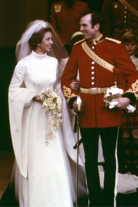 matrimonio regale della Principessa Anna e Mark Phillips, 1973