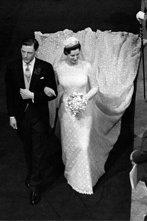 Principessa Alexandra e Ongus Ogilvy matrimonio regale, 1963