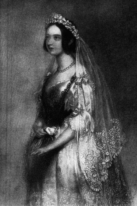Regina Vittoria sposa 1840