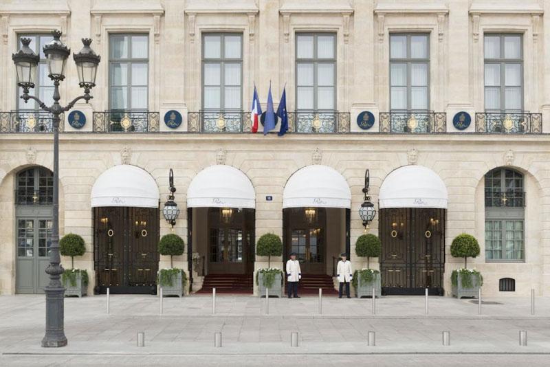 hotel ritz a parigi