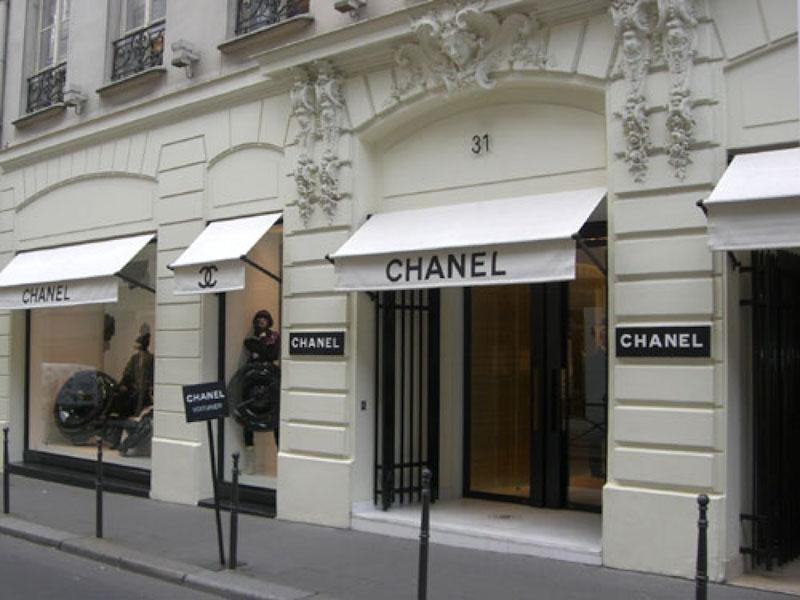 maison chanel a parigi